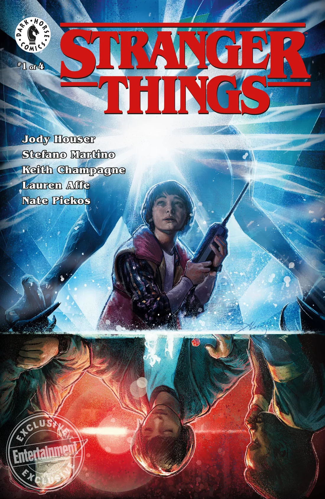Stranger Things lanza una serie de comics